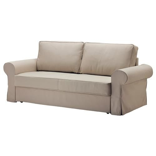 BACKABRO σκελετός τριθέσιου καναπέ-κρεβάτι. Κάλυμμα/στρώμα πωλούνται χωριστά. - IKEA