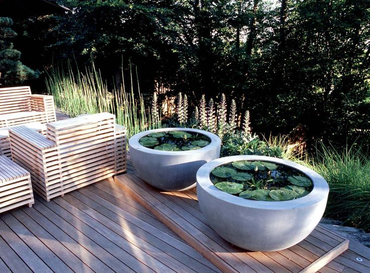 71 best images about container ponds for water gardening for Planter fish pond