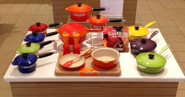 Saucy Savings in all Le Creuset Outlets in August!