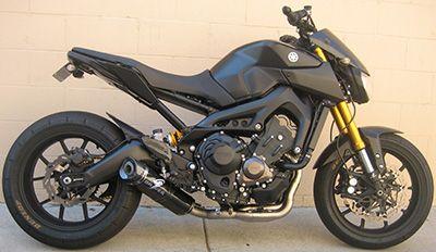 Graves Motorsports Yamaha FZ09 FJ09 XSR900 Full Ti Exhaust System