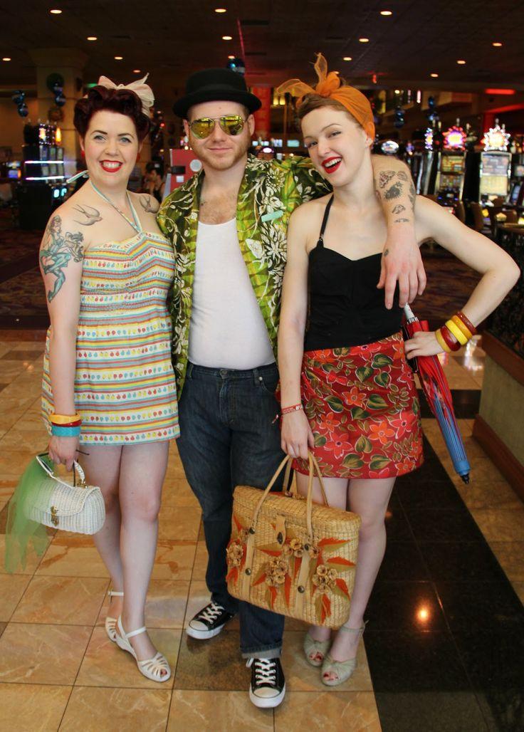 Swimsuits of Viva Las Vegas Rockabilly Weekend