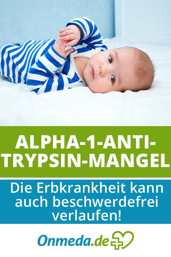 Alpha 1 Antitrypsin Mangel Krankheit Erkrankungen Therapie