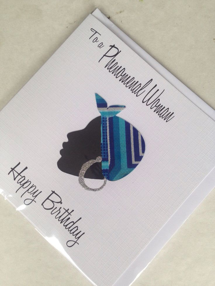 Beautiful handmade African inspired greeting cards which