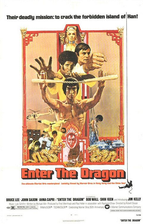 Classic martial arts movie that looks dated now perhaps but Bruce Lee remains impressive