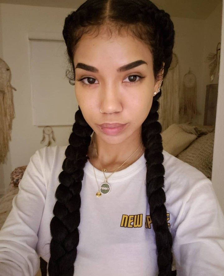 Jhene Aiko With Images Hair Styles Braided Hairstyles Jhene Aiko