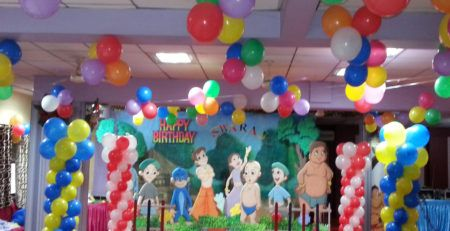Chota Bheem Birthday Theme Decorators In Pune Balloon Decorators