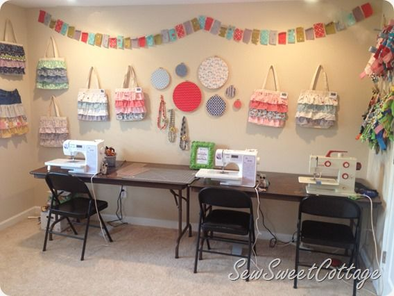 sewing craft room design ideas - and craft room ideas home office ...