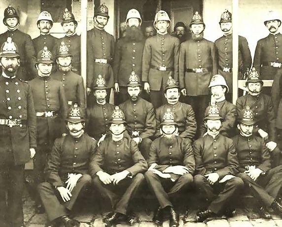 """Launceston Police"", Tas, c. 1889"