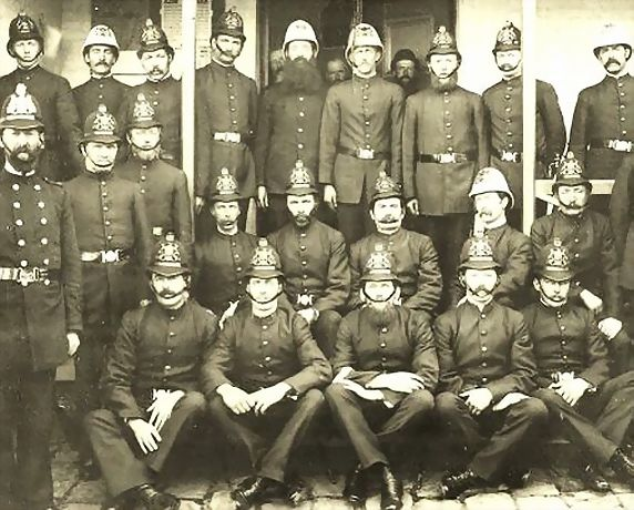 """Launceston Police"", Tas, c. 1889"