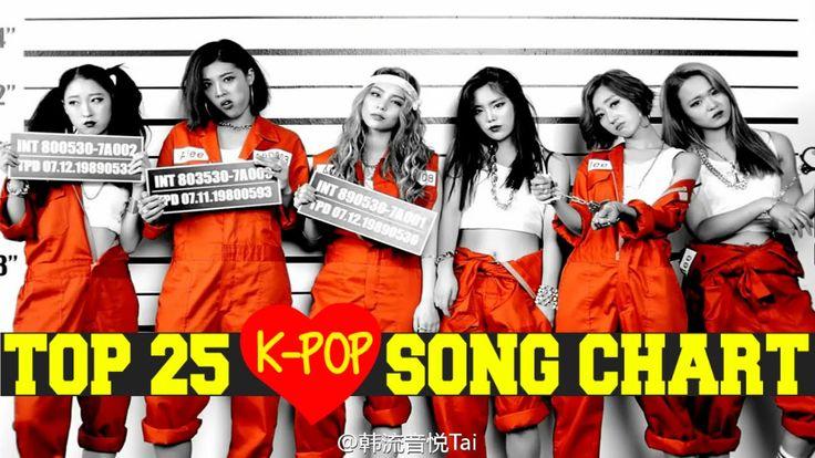 K-POP SONG CHART [TOP 25] September 2015 [Week 5] - Personal Chart