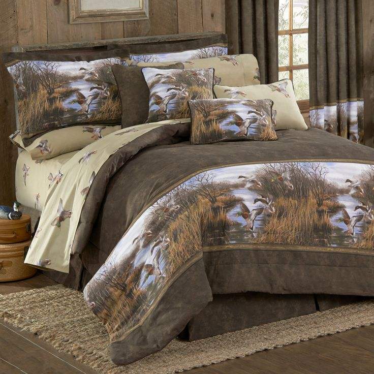 i love camo bedding blue ridge trading duck approach comforter set 4pc queen size - Camouflage Bedding