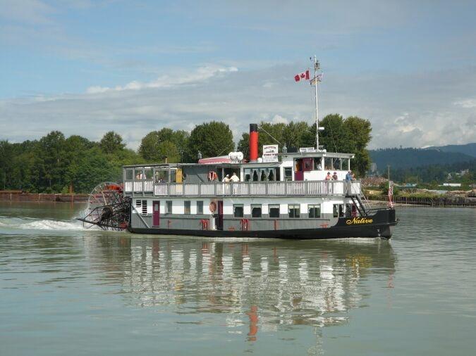 Vancouver Paddlewheeler Riverboat Cruises British Columbia, Canada.