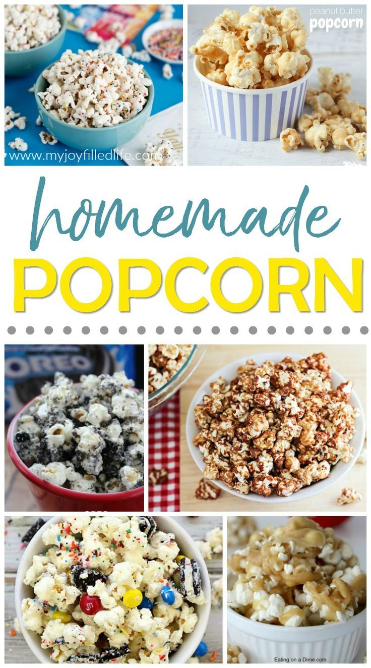 Die besten 25 homemade popcorn recipes ideen auf for Food bar 527