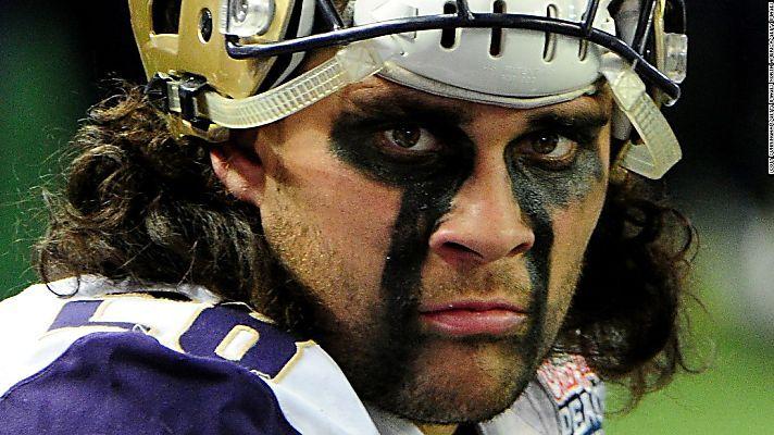 Tattooed 'fire warrior' snubs NFL chance
