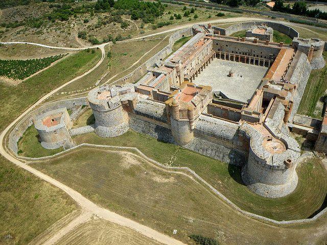 Forteresse de Salses, Pyrénées-Orientales (66), Langudeoc-Roussillon, France…