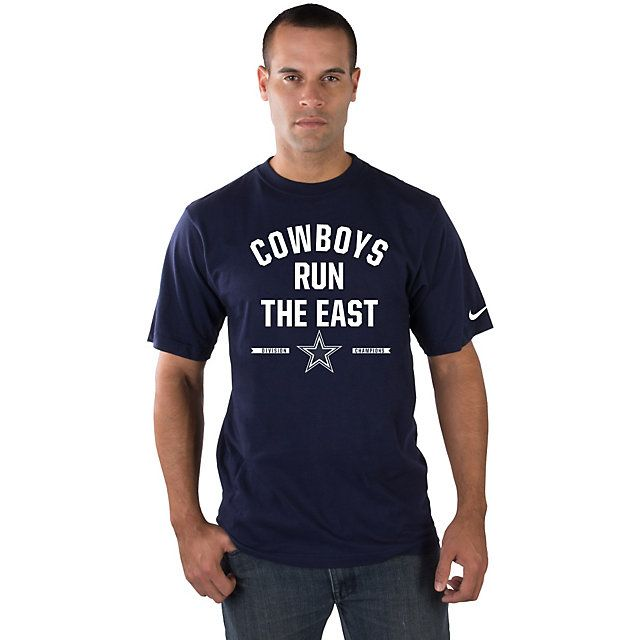 Dallas Cowboys 2014 NFC East Division Champs Nike Mens Tee