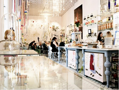 Kopenhagen: the royal cafe