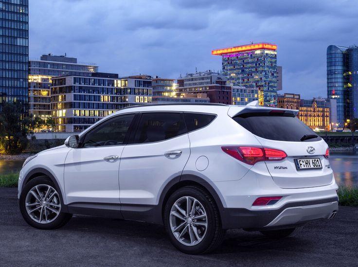 Hyundai Santa Fe (2015).
