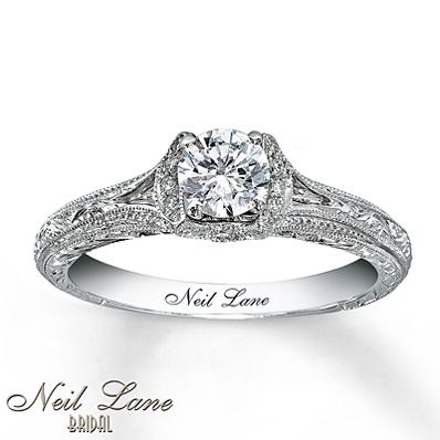 Superior Neil Lane Ring Setting Ct Tw Diamonds White Gold   My Ring Except I Have A  Marquise Dimond