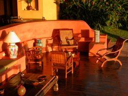 Hotel Luna Azul, Playa Ostional, northwest Pacific Coast in Costa Rica