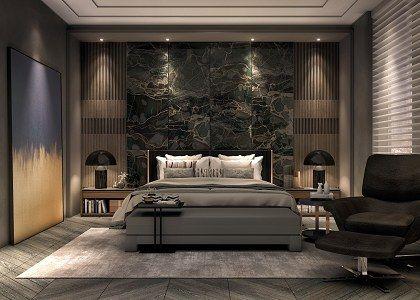 3D models  - BEDROOM - Master bedroom - by taufik mulyaman | Sketchuptexture