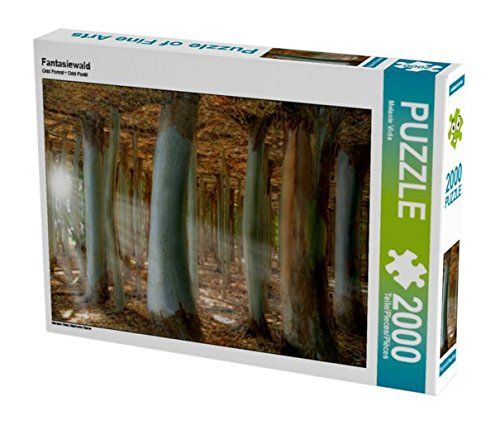 Fantasiewald 2000 Teile Puzzle quer: Mystische Szene (CAL... https://www.amazon.de/dp/B01LCWY8DE/ref=cm_sw_r_pi_dp_x_btBoyb1JR12RJ #Puzzle #Geschenk #gift #Spielzeug #Fantasie #Wald #surreal #2000Teile #phantasy