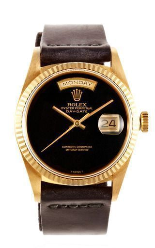 Take a peek - Rolex 18 K Yellow Gold Day Date President With Black Onyx Dial by CMT FINE WATCH AND JEWELRY ADVISORS Now Available on Moda Operandi - mens diamond watches, big face watches for men, name brand watches on sale *sponsored https://www.pinterest.com/watches_watch/ https://www.pinterest.com/explore/watch/ https://www.pinterest.com/watches_watch/ice-watch/ http://wwd.com/accessories-news/watches/ Use PIN10 for 10% off !:) #men'swatches