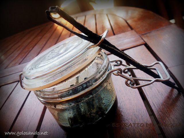 Golosando...serenamente!: Estratto di vaniglia fatto in casa