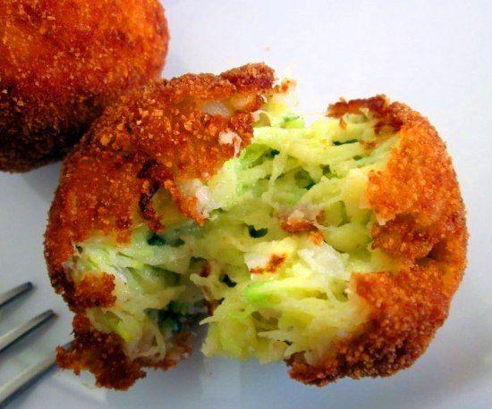calabacin-croquetas al horno Más