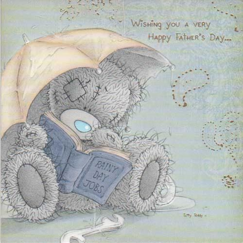объявила, что серый мишка открытка папе это только приятный