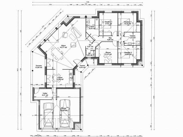 Plan De Maison 5 Chambres Plain Pied Infos Et Ressources 3