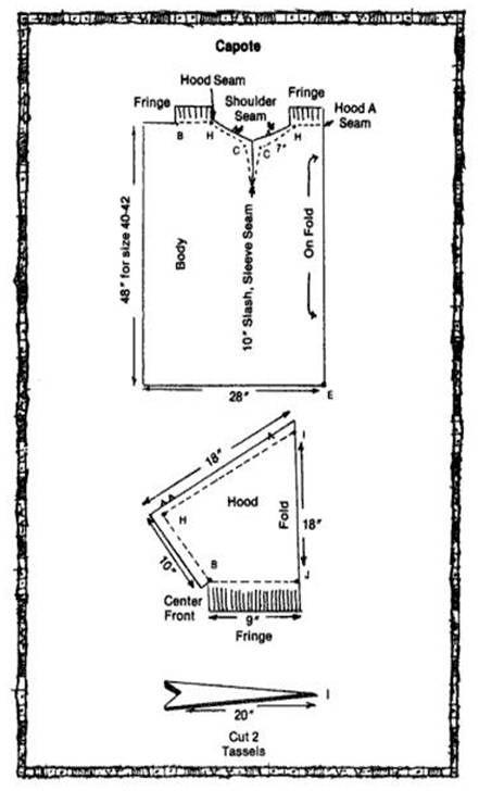 Hopefully Smashing: Capote (Blanket Coat) History and DIY