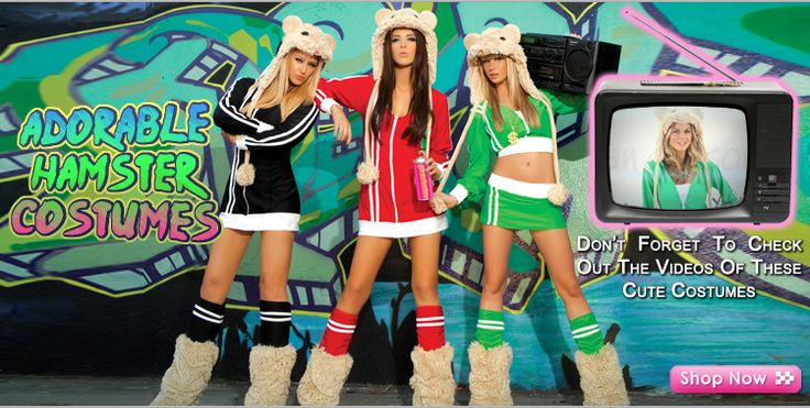 Be a sexy DJ Hamster this halloween with one of these costumes that resemble the new Kia commercials!