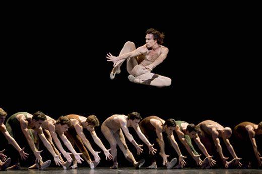 Paris Opera Ballet - Nicolas Le Riche of Paris Opera Ballet in Maurice Bejart's Le Sacre du printemps.