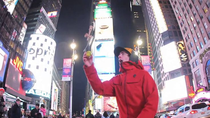 Kendama USA NYC 2012 Episode 2 - Times Square