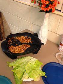 love always : PF Changs Chicken Lettuce Wraps