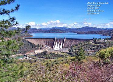 Shasta Dam, Lake Shasta, California