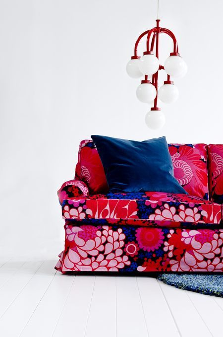 Bemz Cover For Stockholm Sofa (older Model), Fabric: Folklore, Design Göta