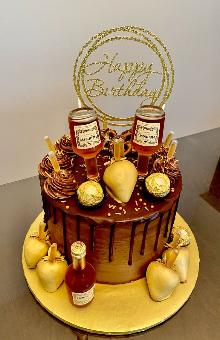 Hennessy cake in 2020 hennessy cake cake how to make cake