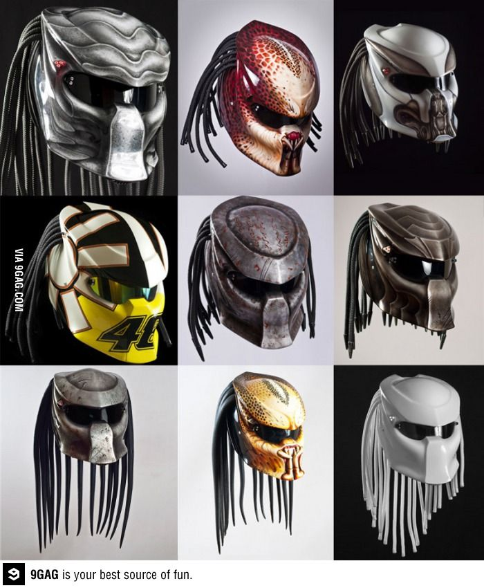 Predator helmet!