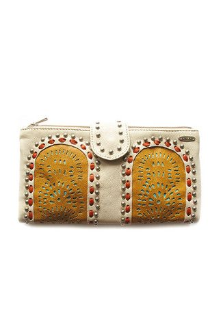 Avoka Wallet in Creme by Lokoa | Available at The Freedom State |