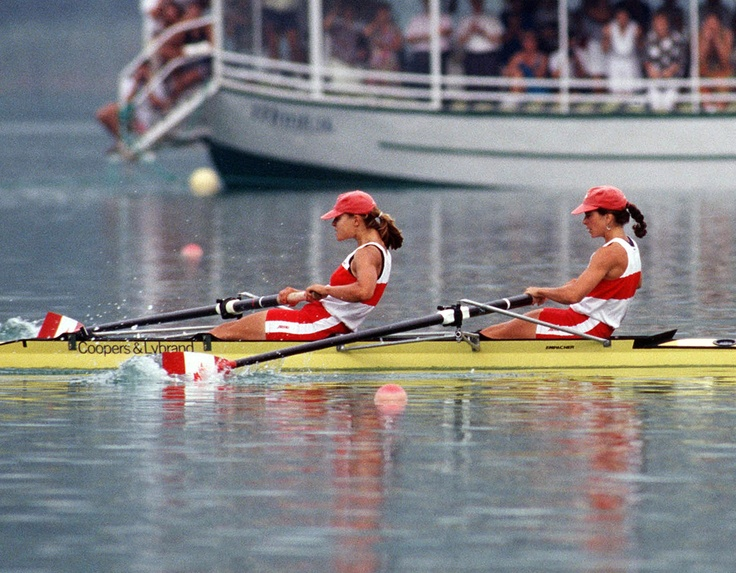 """Chiropractic was an important part of my athletic training."" ~ Marnie McBean ~ World Champion and Olympic Gold Medallist, rowing.     Photo: Canada's Marnie McBean (left) and Kathleen Heddle competing in the 2- rowing event at the 1992 Olympic games in Barcelona."
