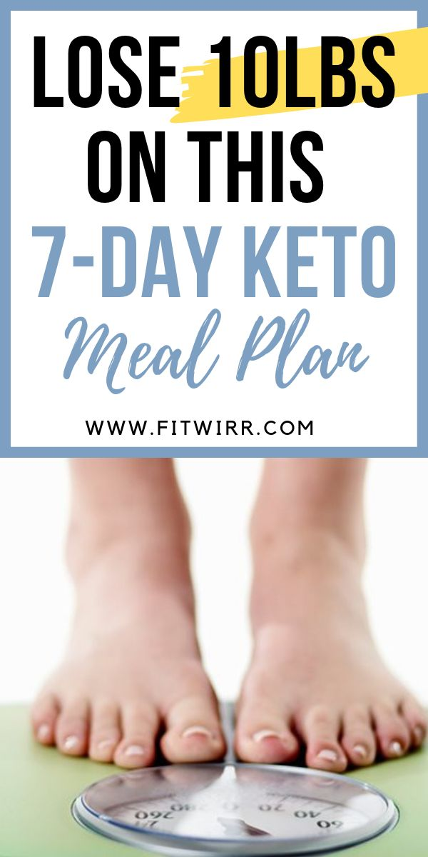 Lose 10 pounds on this 7-day keto meal plan. Reach ketosis, burn fat eating high...