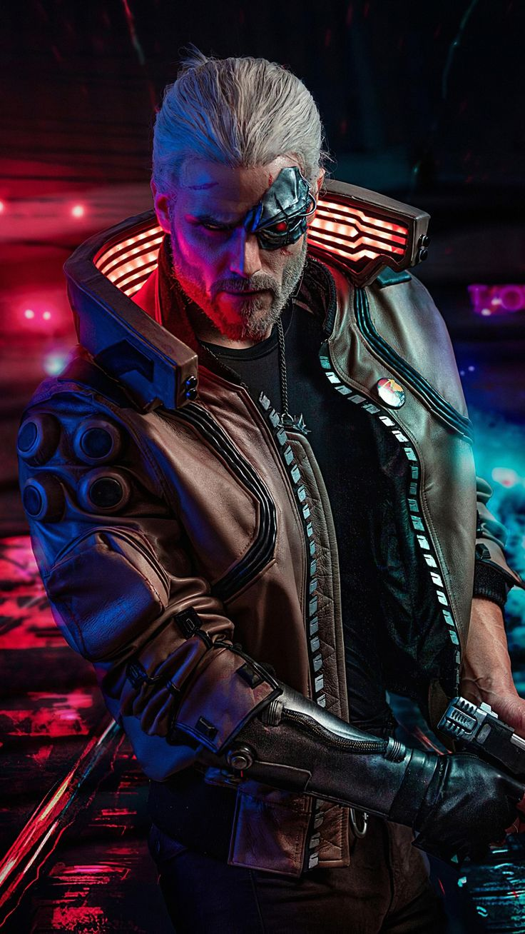 1080x1920 Cyberpunk 2077, The Witcher, crossover, game