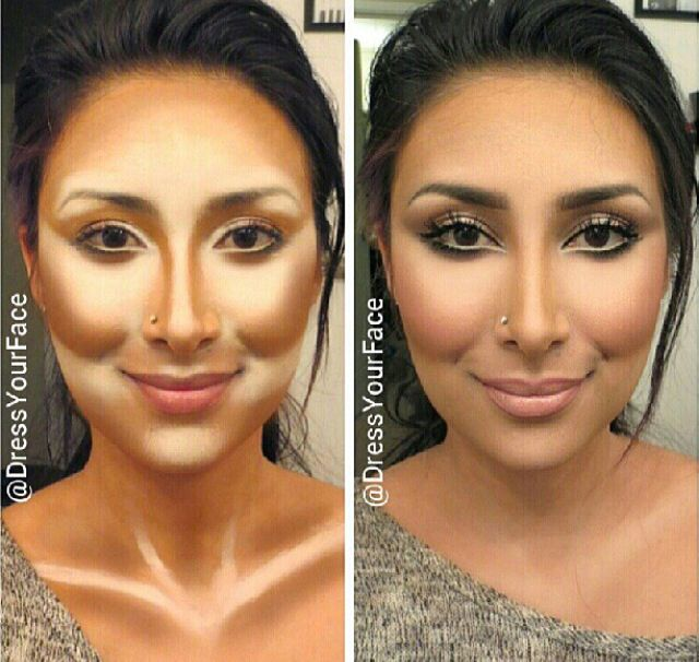 Finally! Someone with my face shape and contour advice! Holla!