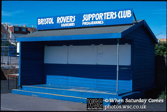 The Memorial Stadium, Bristol Rovers. Photo by Tony Davis.