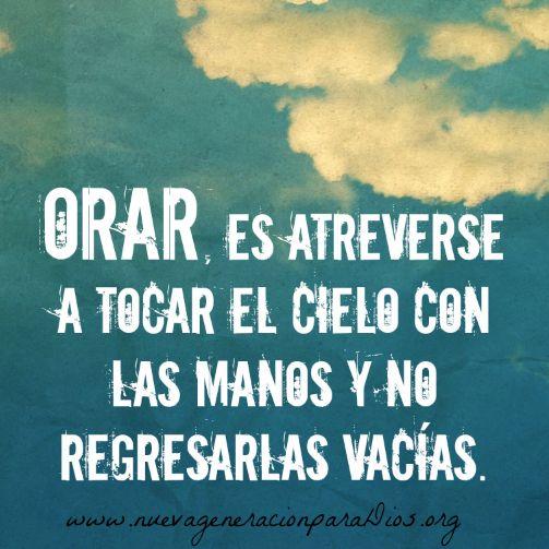 #Dios #amor #confianza #palabras #vida #orar