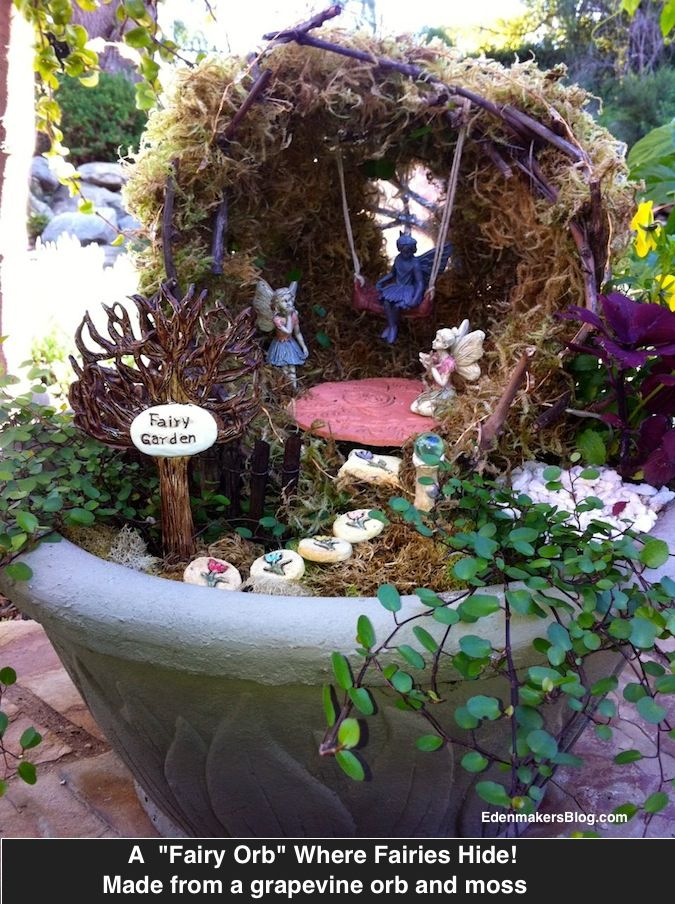 43 Best Images About Fairy Garden On Pinterest