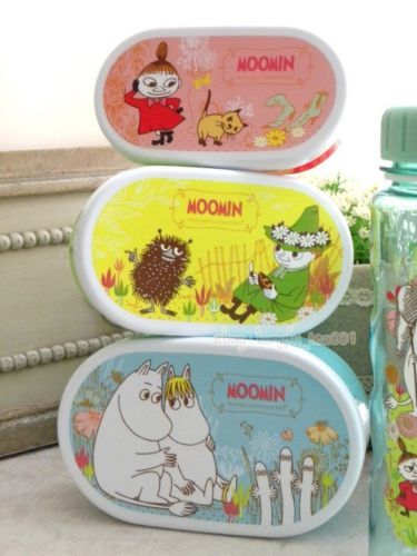 3p mumintroll moomin valley little my hattifattener lunch box bento container b ebay bento. Black Bedroom Furniture Sets. Home Design Ideas