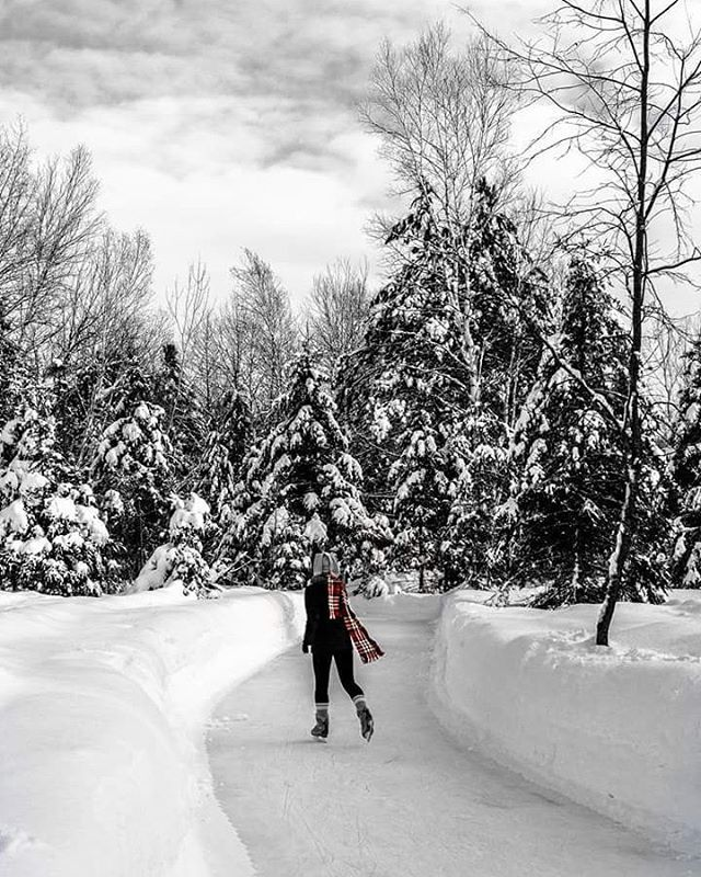 There Is A 3km Ice Skating Trail In Gatineau Park That You Must Check Out | Narcity Ottawa